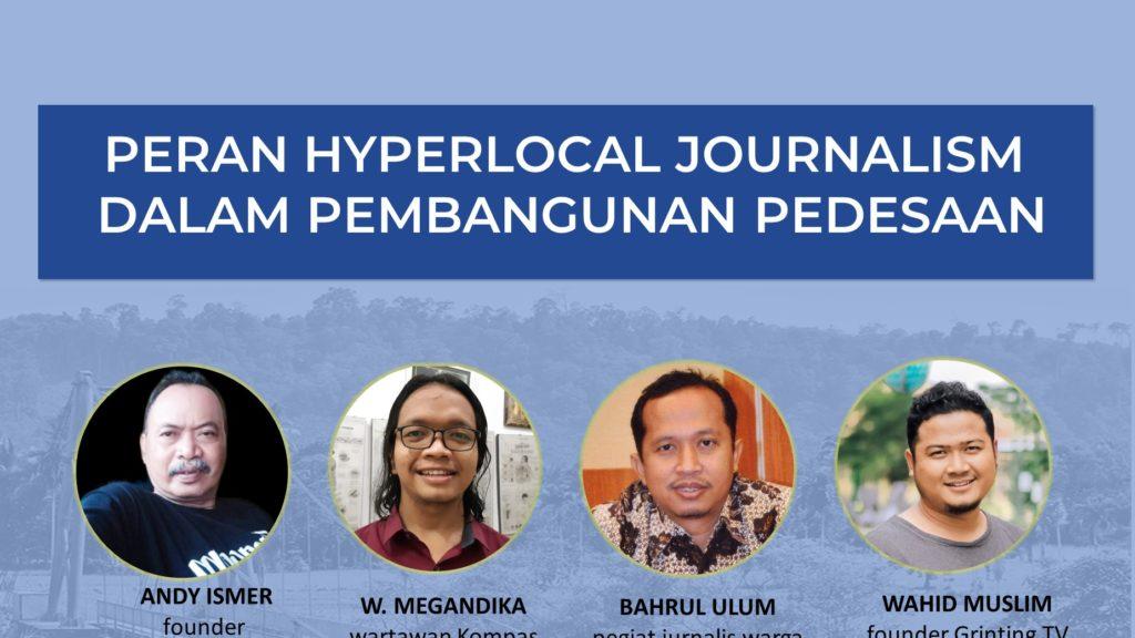 Hyperlocal Journalism untuk Pembangunan Desa